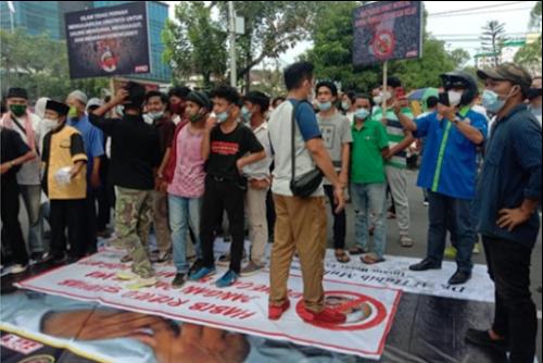 Demo di Medan
