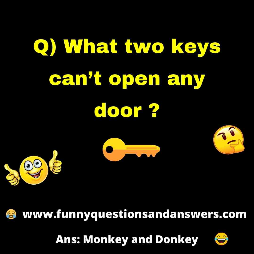 Random questions and answers funny
