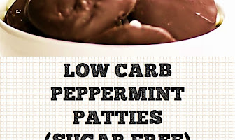 LOW CARB PEPPERMINT PATTIES (SUGAR FREE)