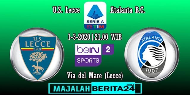 Prediksi Lecce vs Atalanta