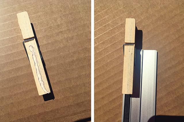 knijper lijmpistool liniaal cadeau voor juf knutselen