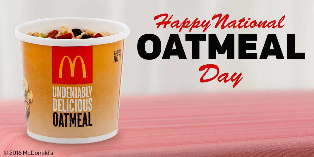 National Oatmeal Day Wishes