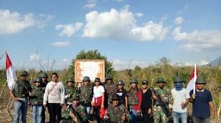 Patroli Bersama TNI di Perbatasan Timor Leste! Ini Yang Dilakukan Mahasiswa KKN Undana