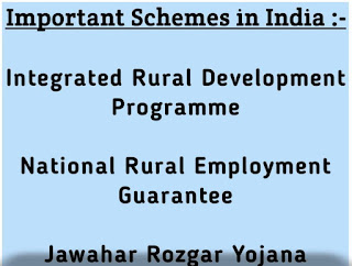 Government Schemes in India :-