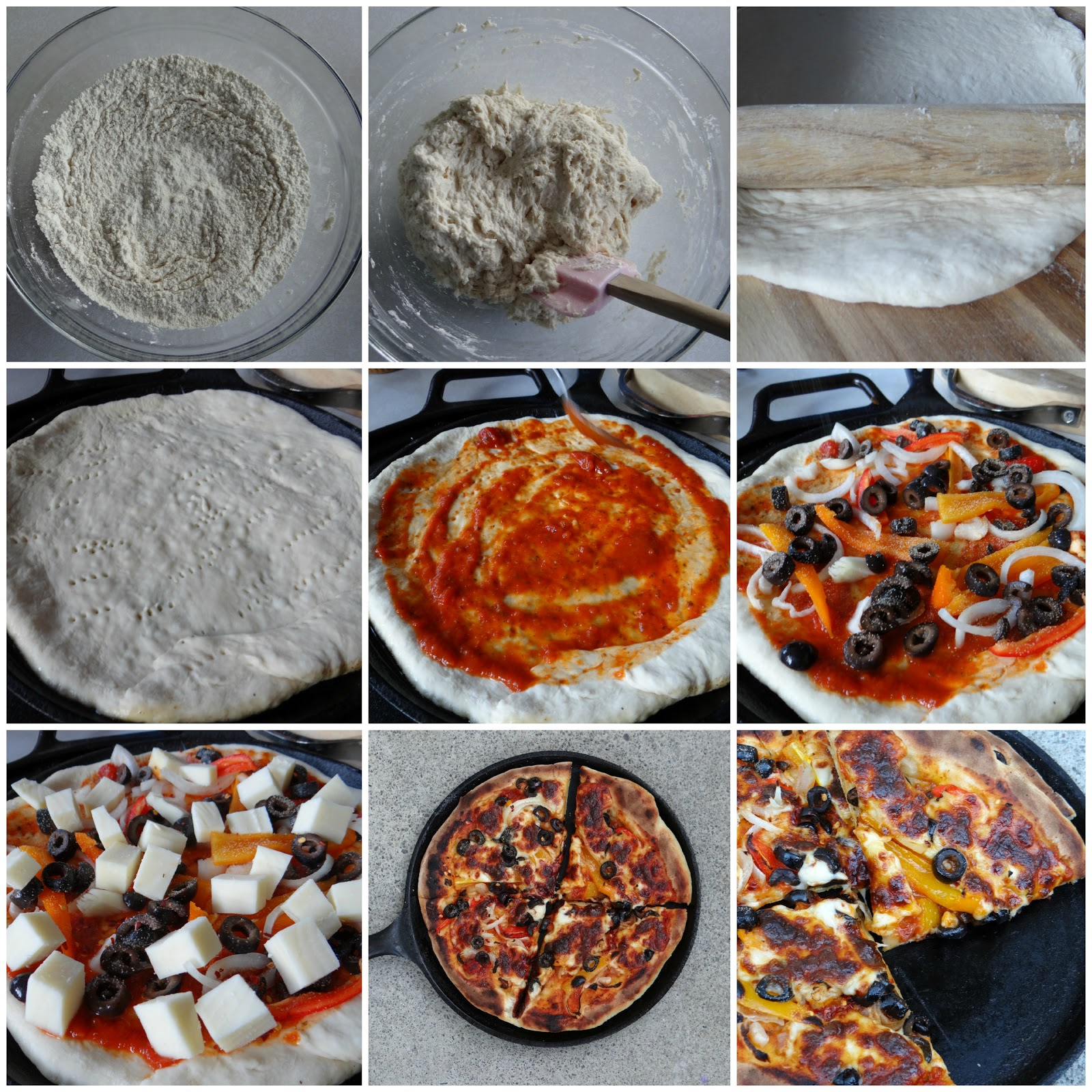 Pizza Without Yeast In 20 Minutes: Learning From Jamie Oliver | fewminutewonders