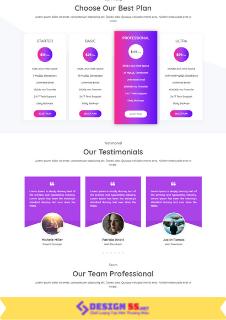 Theme blogspot landing App Business VSM68 - Ảnh 2