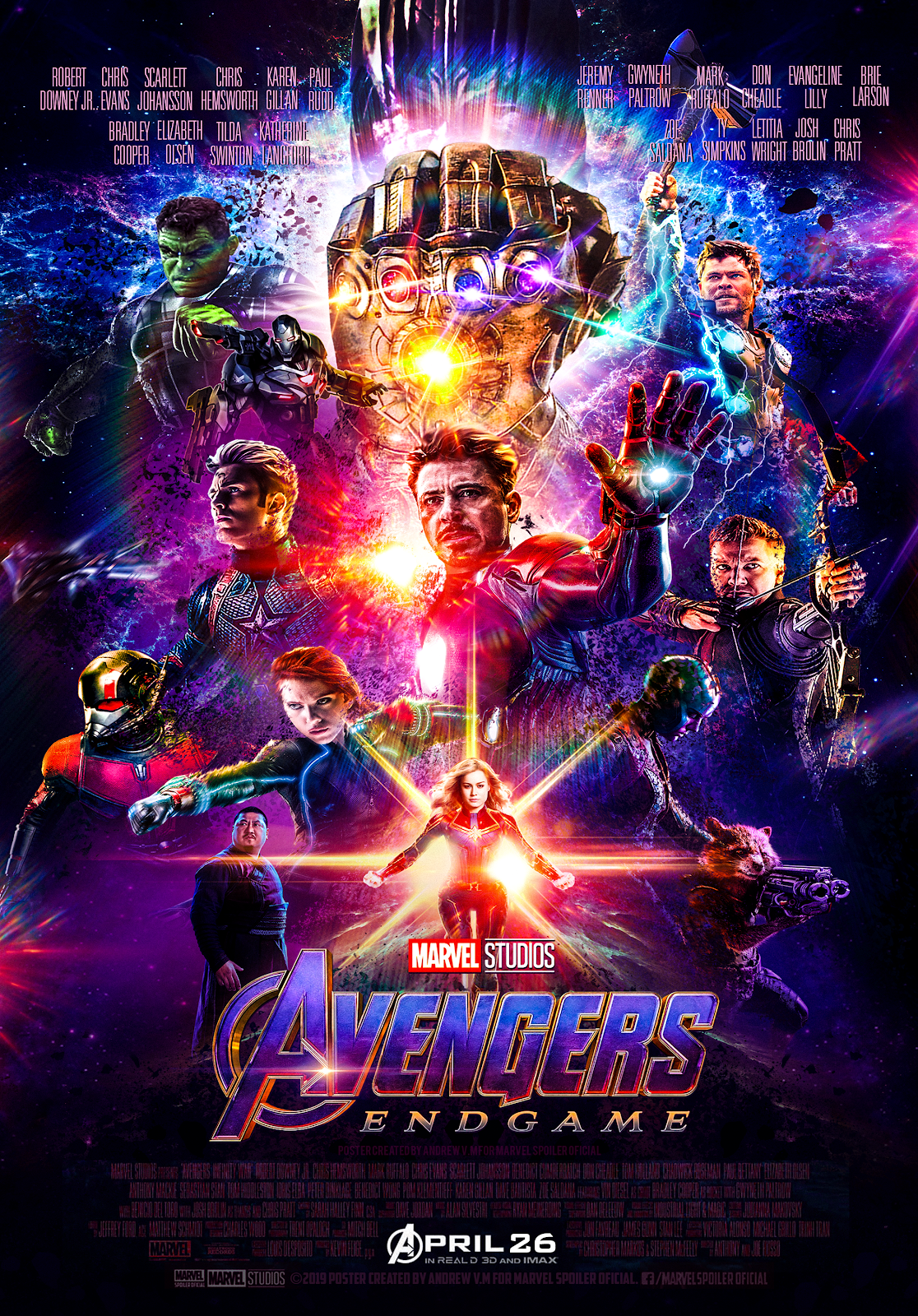 Endgame Official Poster Hd