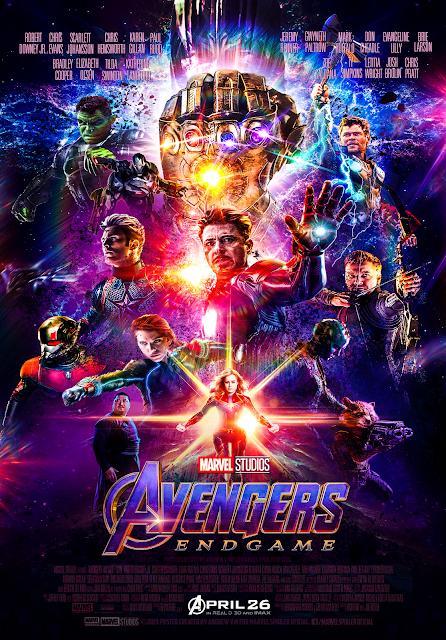 Avengers Endgame Poster Hd Landscape New York City Poster Display