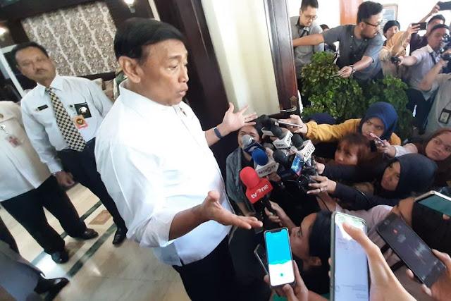 Wiranto Sebut Eks HTI yang Masih Sebarkan Paham Anti-Pancasila Bisa Dijerat Hukum