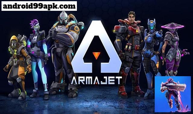 لعبة Armajet v1.14.8 كاملة بحجم 146 ميجابايت للأندرويد