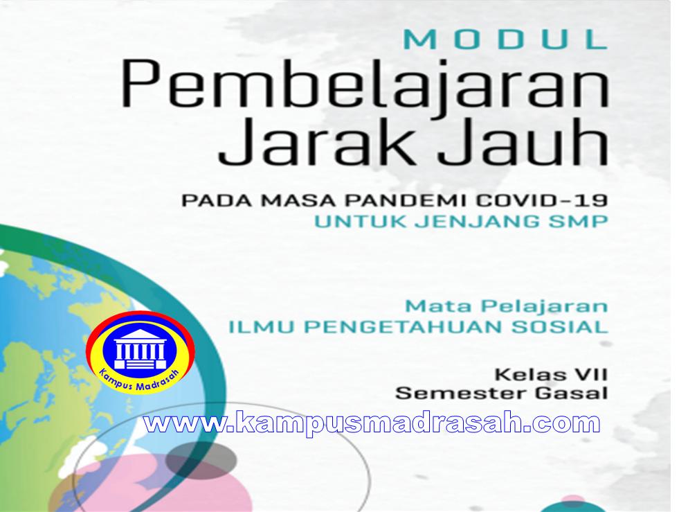 Modul Pembelajaran Daring  IPS Semester 1 Kelas 7 SMP