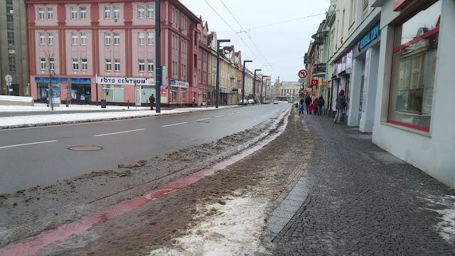 Winter in Hradec Kralove, Czech