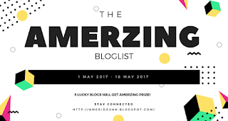 THE AMERZING BLOGSLIST:  Why I can't? (Count On Me)