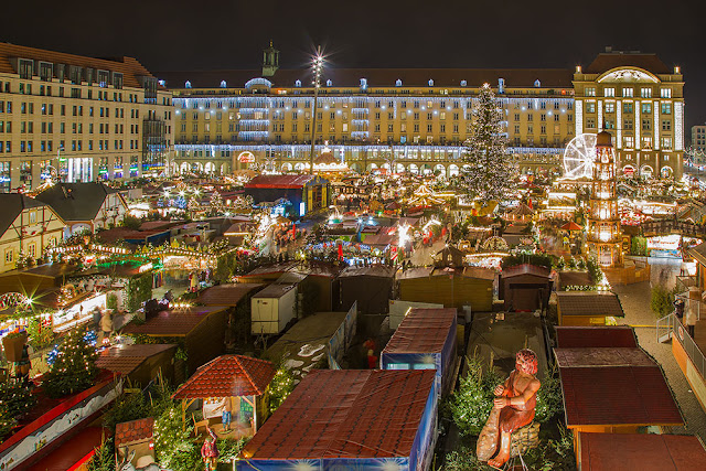 Dresden Germany oldest Christmas markets Striezelmarkt