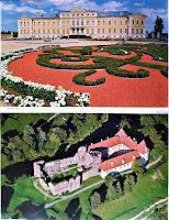 Rundale - pałac, Bowsk - zamek