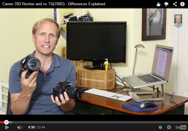 Canon EOS 70D Review and vs Canon EOS 700D - Differences Explained