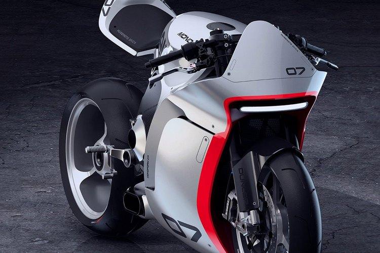 The concept of Moto's MONO RACR 1