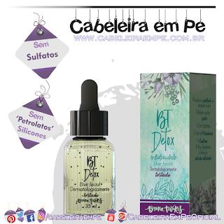 Elixir Facial BT Detox - Bruna Tavares (Sem Sulfatos, Sem Petrolatos e Sem Silicones)