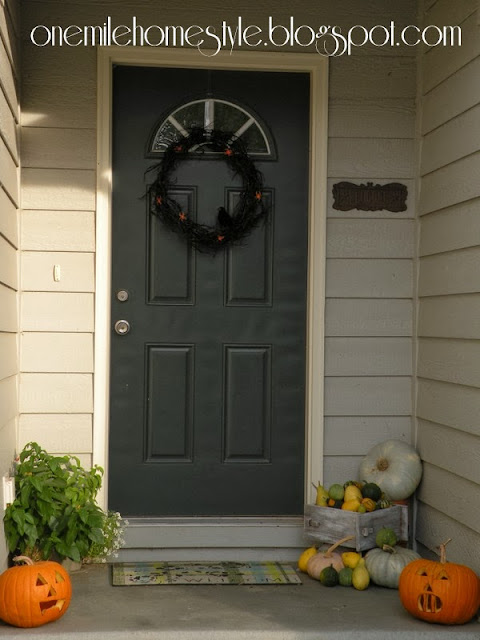 Halloween Front Entry Decorations