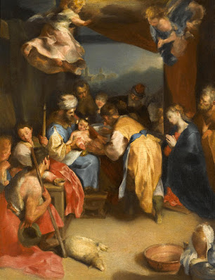 The Circumcision of Christ is a painting by Federico Barocci  which was uploaded on January 28th, 2017.