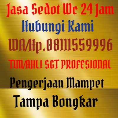 Jasa Sedot Wc Cipta Pratama 24 Jam Hp08111559996