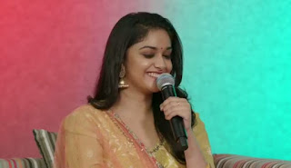Keerthy Suresh at FB Live Streaming 2