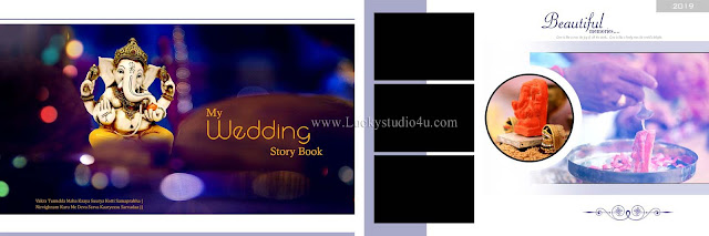 Wedding Album PSD Design 2019