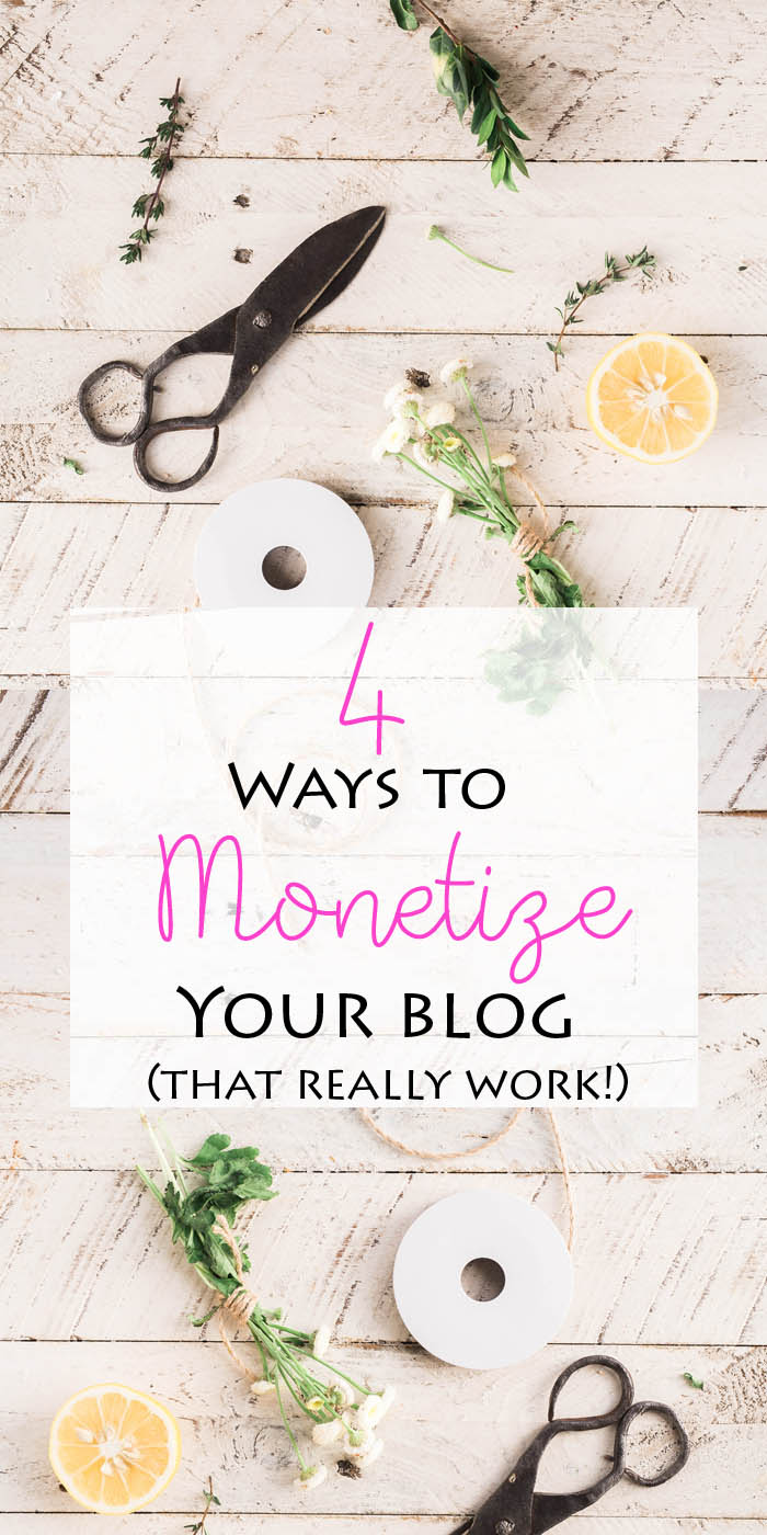 4 Ways to Monetize your Blog