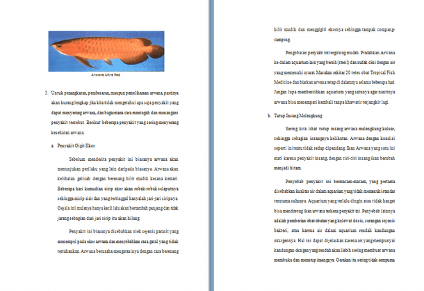 Contoh Makalah Usaha Budidaya Ikan Arwana