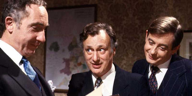 'Yes Minister', series políticas