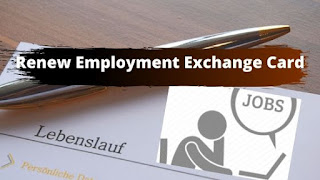 Renew Employment Exchange Card