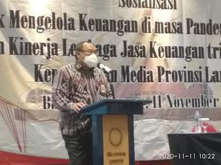 Pertumbuhan Ekonomi Lampung Meningkat, Kredit Perbankan Meningkat