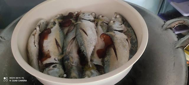 Buat Sendiri Ikan Lengat Mudah Dan Sedap, ikan lengat, ikan kukus, resipi ikan lengat, resipi ikan lengat medah dan sedap, sedapnya ikan lengat, ikan