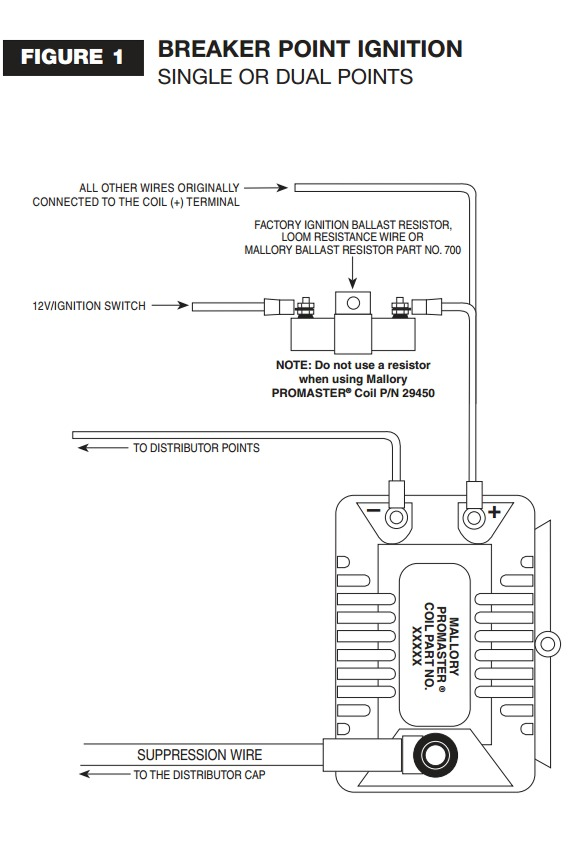 Mallory Promaster Coil Wiring Diagram Wiring Schematic Diagram