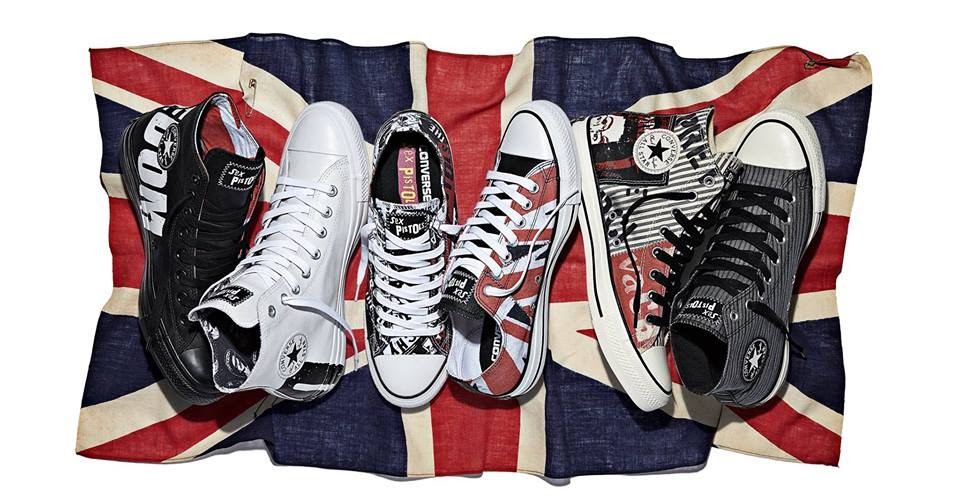0a15c6759722 Sex Pistols rocks the Converse Chuck Taylor All Star Sex Pistols collection!