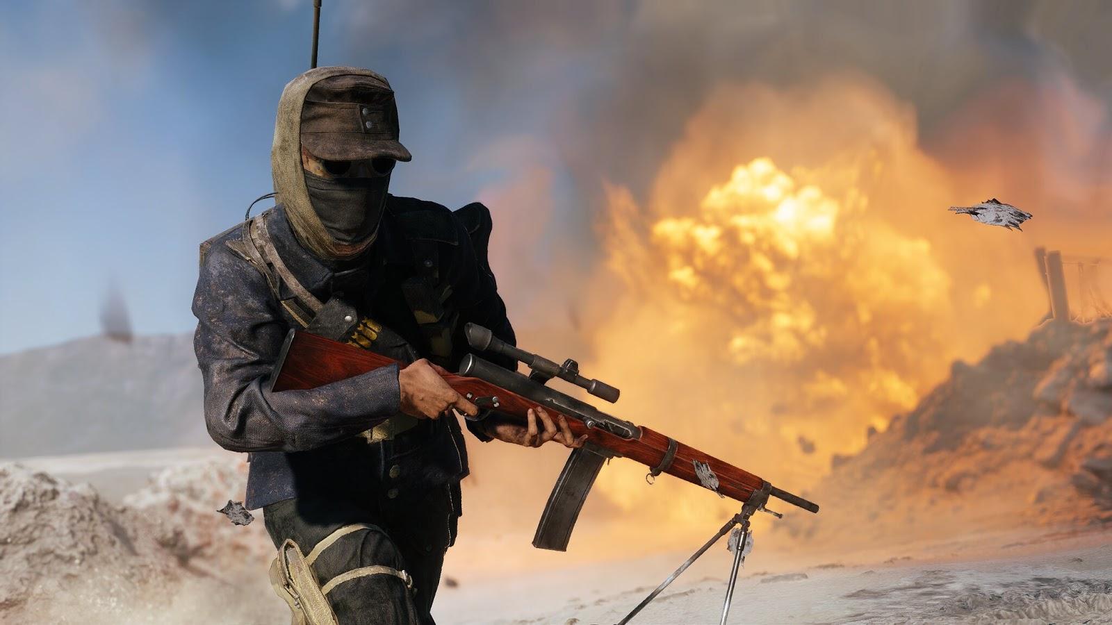 Battlefield V: Novas imagens do novo mapa e novas armas reveladas - Img: Chris177uk
