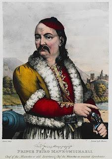Σαν σήμερα το 1845 πεθαίνει ο Πετρόμπεης Μαυρομιχάλης