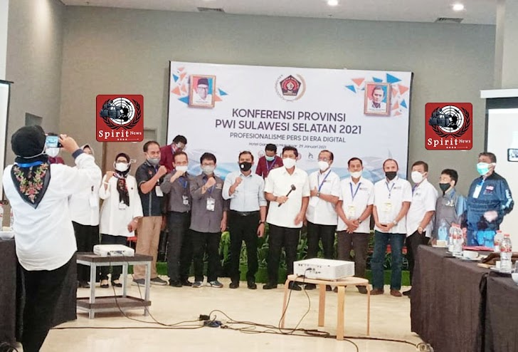Ketua PWI Pusat Bidang Organisasi, Konferprov PWI Sulsel Tahun 2021 Berjalan Lancar