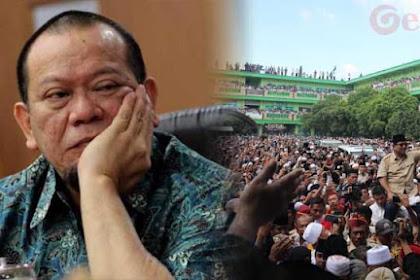 PANIK!!! La Nyalla Sebut Massa Prabowo di Madura 'Ditransfer' dari Luar