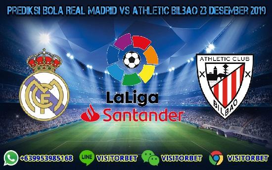 Prediksi Skor Real Madrid vs Athletic Bilbao 23 Desember 2019