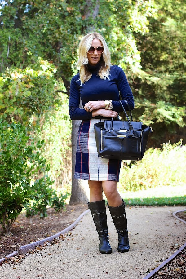 fall tartan and plaid