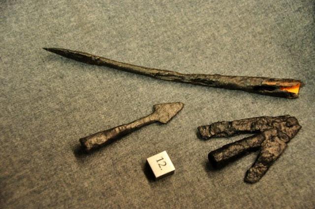groty strzał wczesnośredniowiecznych ze Śródki