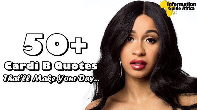 50+ Cardi B Quotes That Tell Exactly Why She's A Boss