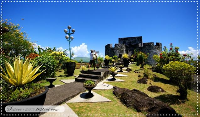Benteng Toluko yang ada di kota Ternate