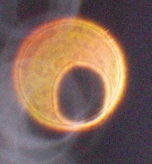 orange orb with hole