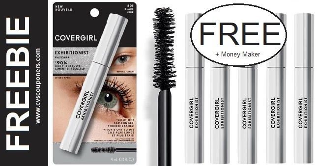 FREE CoverGirl Exhibitionist Mascara at CVS
