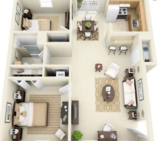 Rekomendasi Desain Rumah Kecil Minimalis Untuk Pasangan Baru