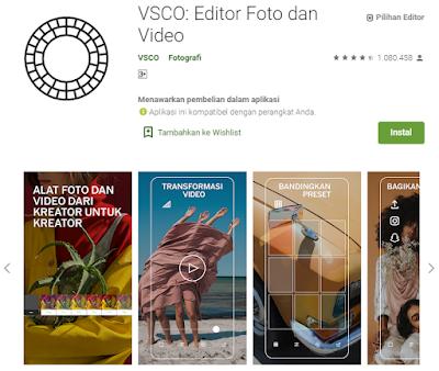 Aplikasi Edit Foto Kekinian Ala Selebgram