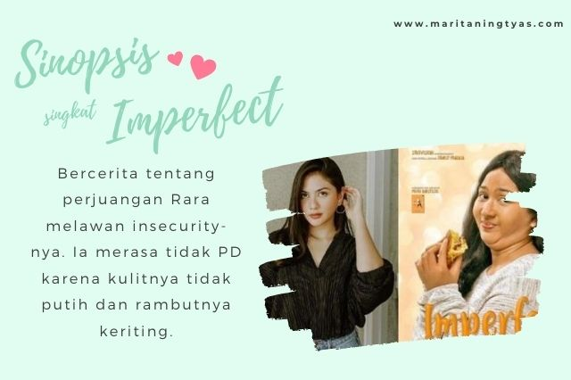 sinopsis imperfect tentang insecurity rara