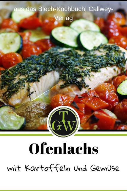 {Buchrezension mit Rezept} Ofenlachs nach provenzialischer Art #ofenlachs #backofengerichte #ofengerichte #lachs #fischgerichte #ausdembackofen #provenzialischeküche - Foodblog Topfgartenwelt